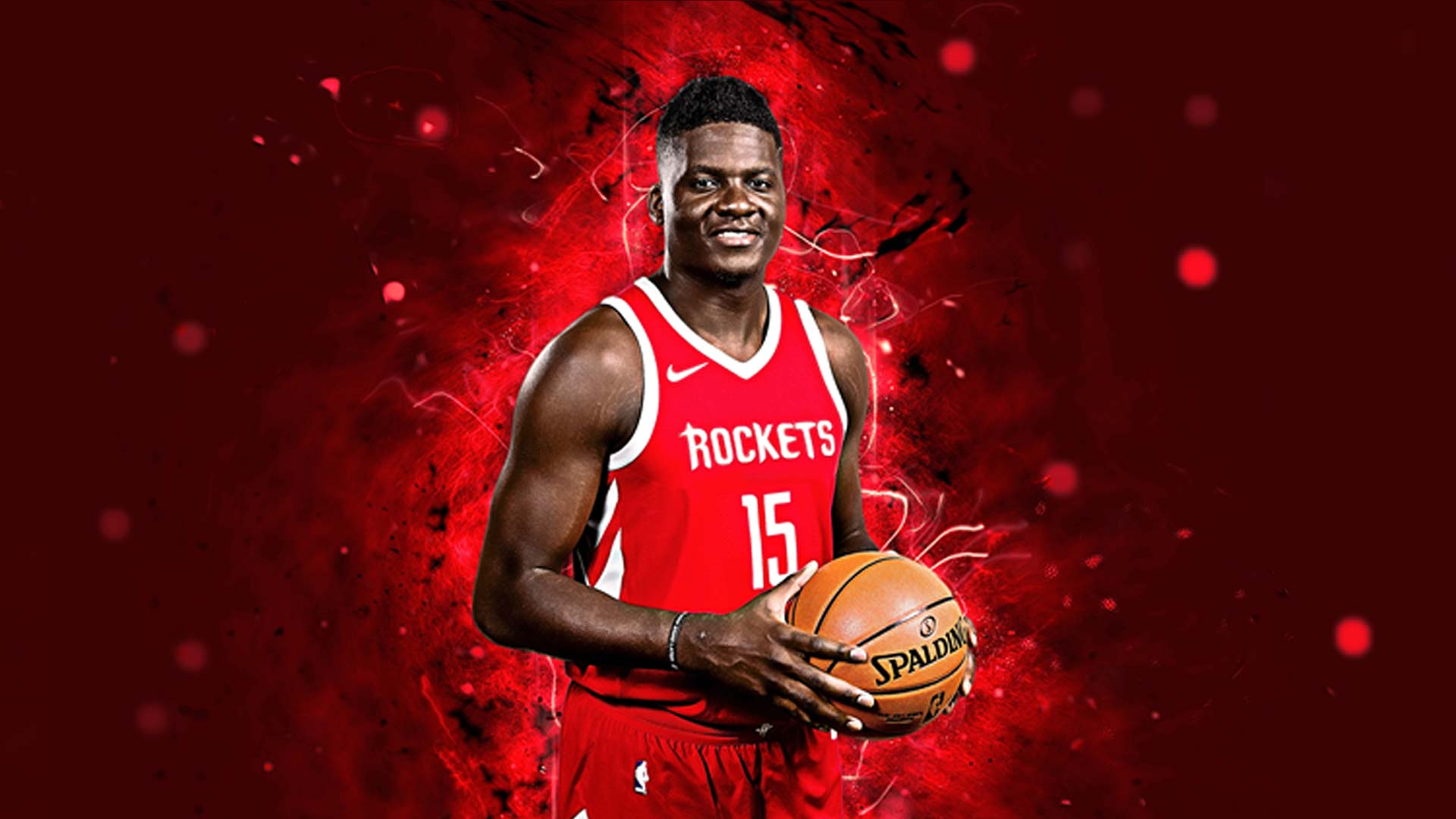 Pour Noël, Baskethouse en collaboration avec Clint Capela et Nike met en vente le maillot de Clint Capela Houston rouge NBA.